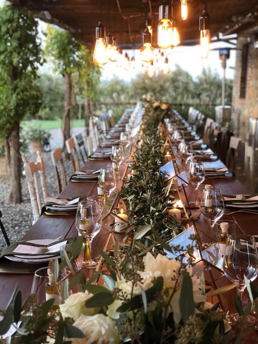 pranzo di nozze in resort