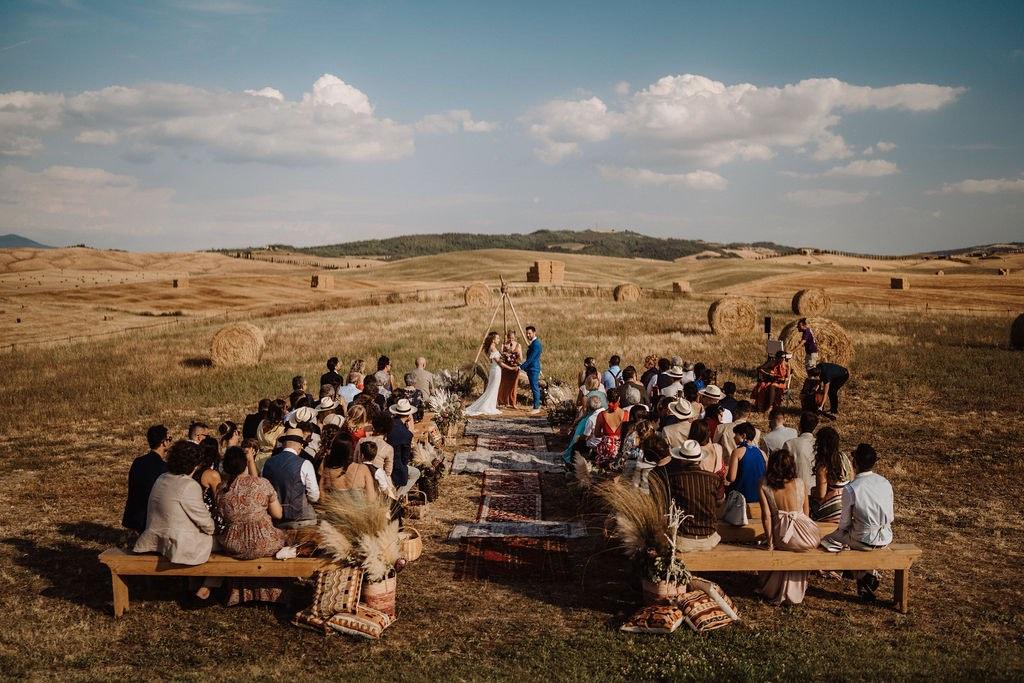 matrimonio nel campo