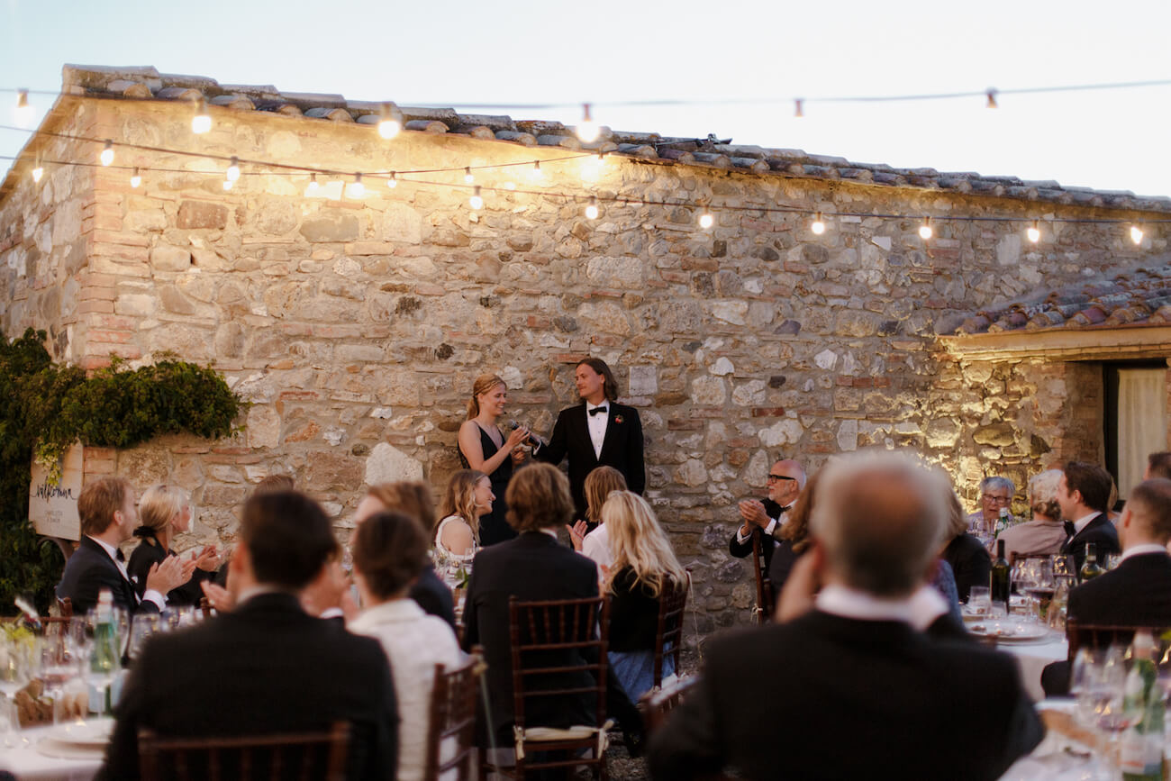 wedding all'aperto
