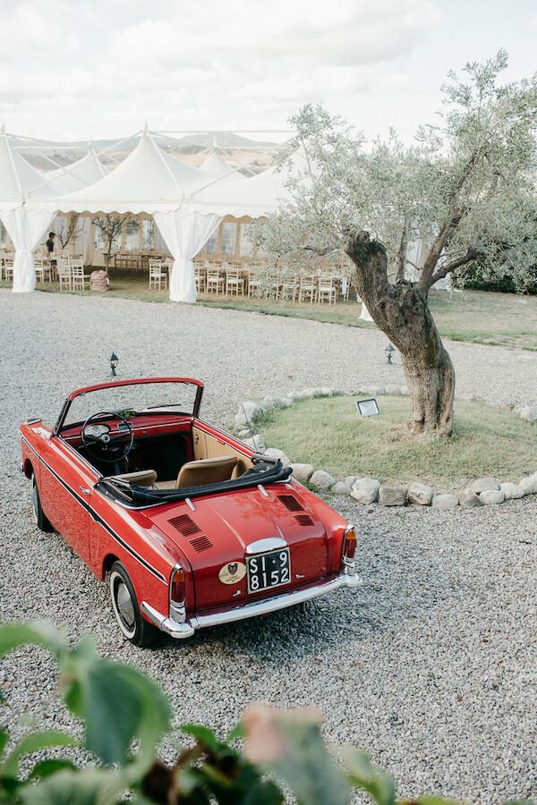 macchina d'epoca per matrimonio